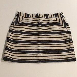Women's Striped Mini Skirt